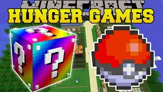 Minecraft: POKEMON HUNGER GAMES - Lucky Block Mod - Modded Mini-Game