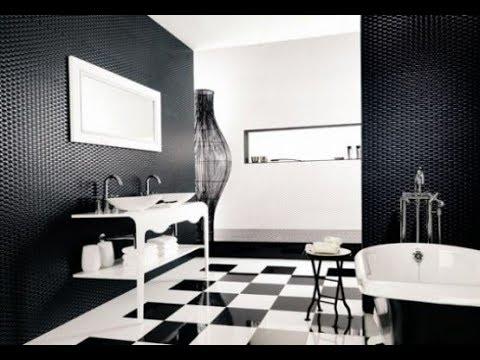 Black And White Bathroom Decorating Ideas 2019 Tiles Makeover Design Tour Diy Decor