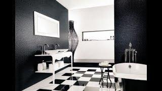 Black and White Bathroom Decorating Ideas 2019 | Tiles Makeover Design Tour DIY Decor