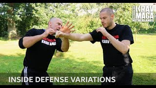 Krav Maga Technique of the Week: Inside Defense Variations with Heath Leavitt, IKMN.