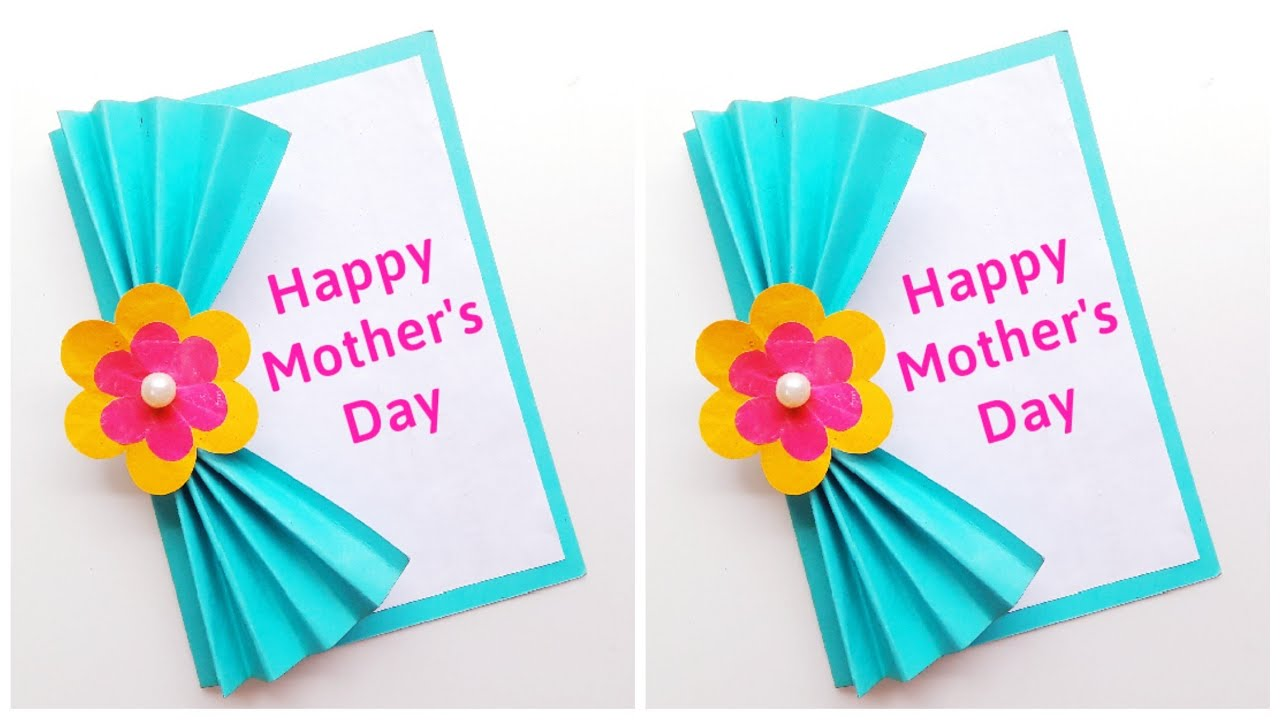 easy  beautiful mother's day card  mother's day card