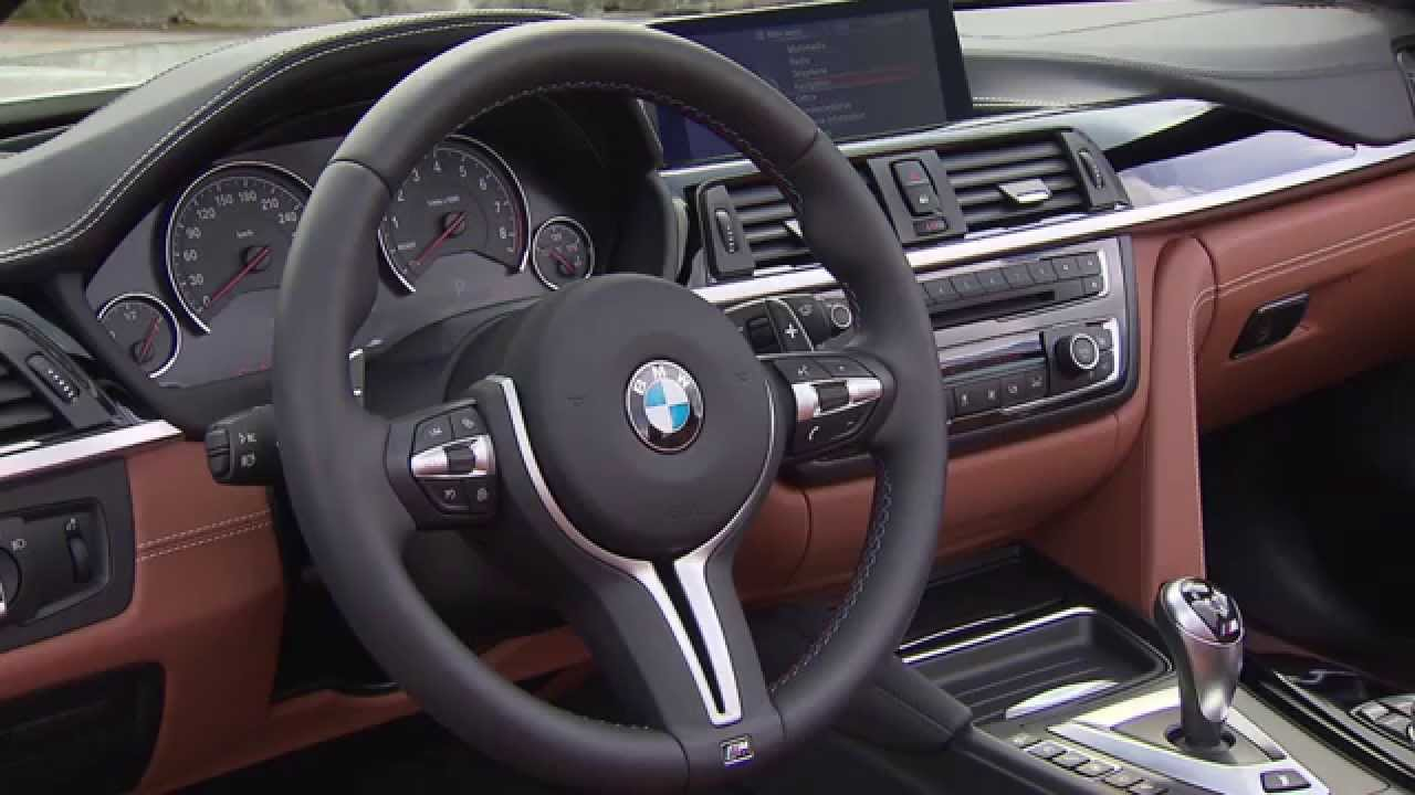 2015 BMW M4 Convertible - The Interior - YouTube