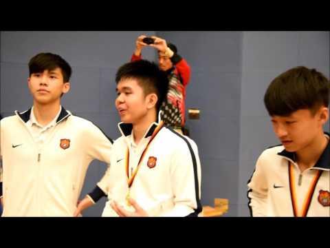 DBS Badminton Team 2016