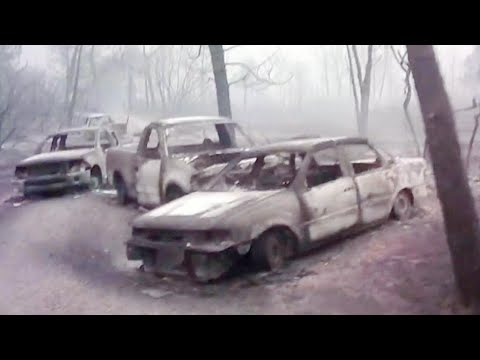 Man Criticized for Sharing Footage of Bodies Charred by Wildfires