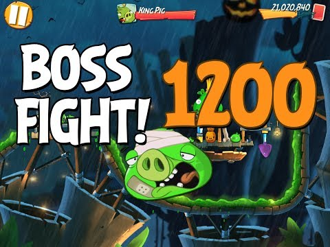 Angry Birds 2 Boss Fight 171! King Pig Level 1200 Walkthrough - iOS, Android