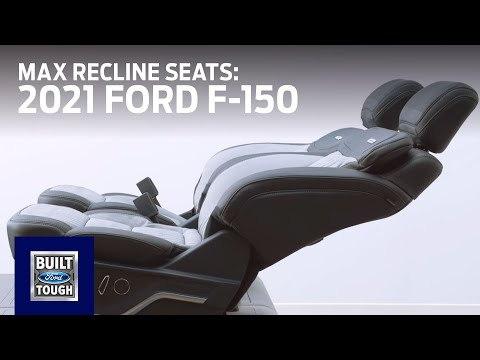 2021 Ford F-150: Available Max Recline Seats | F-150 | Ford