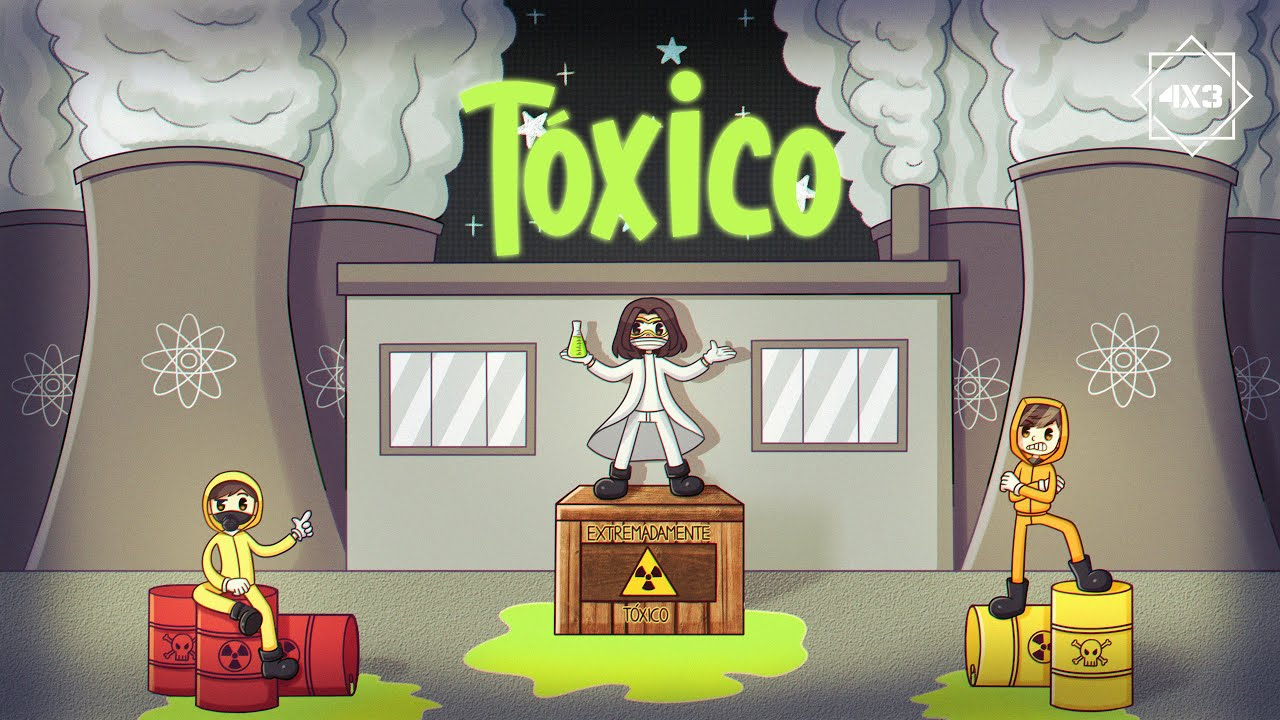 Download Tóxico - 4x3 (Video Oficial)
