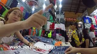 Vietnamese Bullying Shopper l Shopping in Ben Thanh Market l Avoiding Credit Card Fraud
