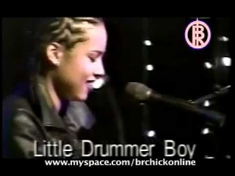 Alicia Keys Christmas Little Drummer Girl