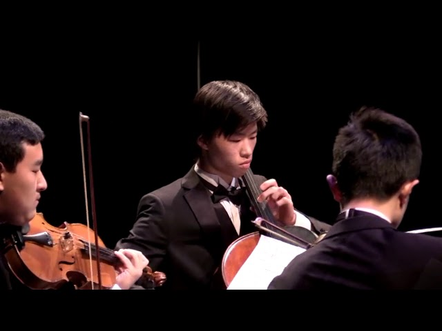 "07 10 11th Grade String Quartet String Quartet Op  96 No  12 in F major ""American"" Dvorak"