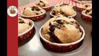 Damla Çikolatalı Muzlu Muffin Tarifi