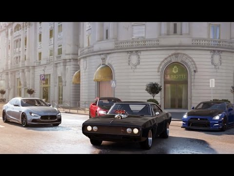FORZA HORIZON 2 - Fast & Furious 7 DLC Gameplay