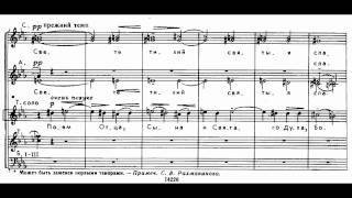 Rachmaninov Vespers - 4 Joyful Light (Kiev Chant)