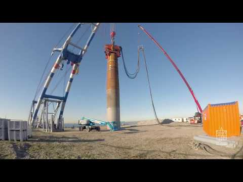 Monopile installation with Vibro Lifting Tool (VLT) CAPE Holland