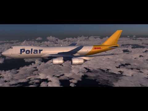 P3D | Hong Kong To Seoul | PMDG 747-8F Timelapse