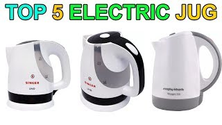Top 5 Electric Jug(heater)/Travel Kettles with price in 2018