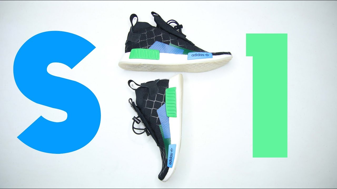 63129fa4f Adidas NMD TS1 MITA COLLAB    Best Redesign NMD FOR 2018   !!! - YouTube