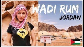 TRAVEL DIARY: WADI RUM, JORDAN!