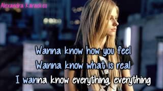 Avril Lavigne - Fall To Pieces ( karaoke/instrumental )