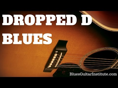 Dropped D Blues Groove | TB049