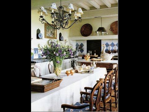 Керамическая плитка для кухни в стиле прованс. Дополнительные идеи