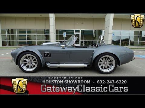 1965 Superformance AC Cobra Replica Gateway Classic Cars #658 Houston Showroom