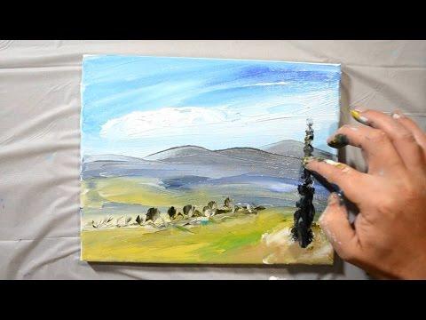 Finger Painting – Speed Art