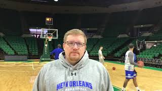 Coach Sless previews MBB at UAB