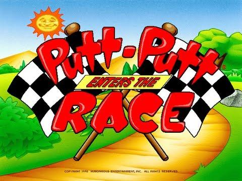 Putt-Putt Enters the Race Walkthrough