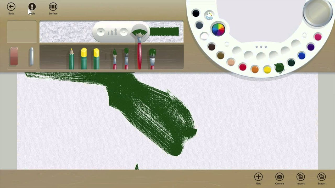 What Fresh Paint Windows 8