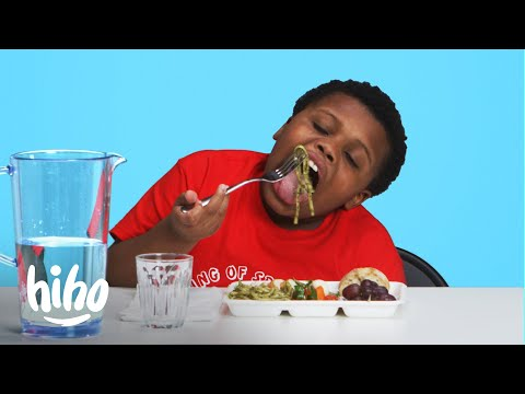 Kids Try School Lunches From Around the World