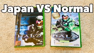 Japanese Halo CE VS Normal Halo CE Cover Art