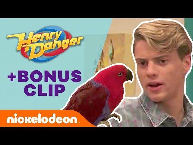 Kid Danger's Identity Revealed by a BIRD?! 🐦 Henry Danger | Nick