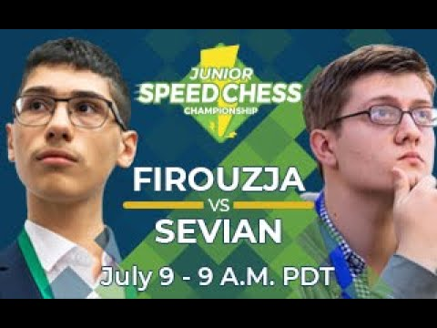 Speed Chess Junior 1/4 De Finale: Firouzja Contre Sevian