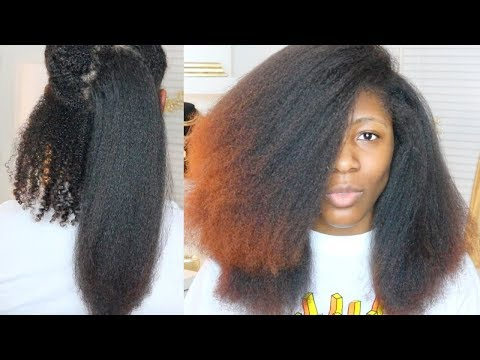 DIY SALON BLOWOUT AT HOME // How to blow dry Type 4 Natural Hair