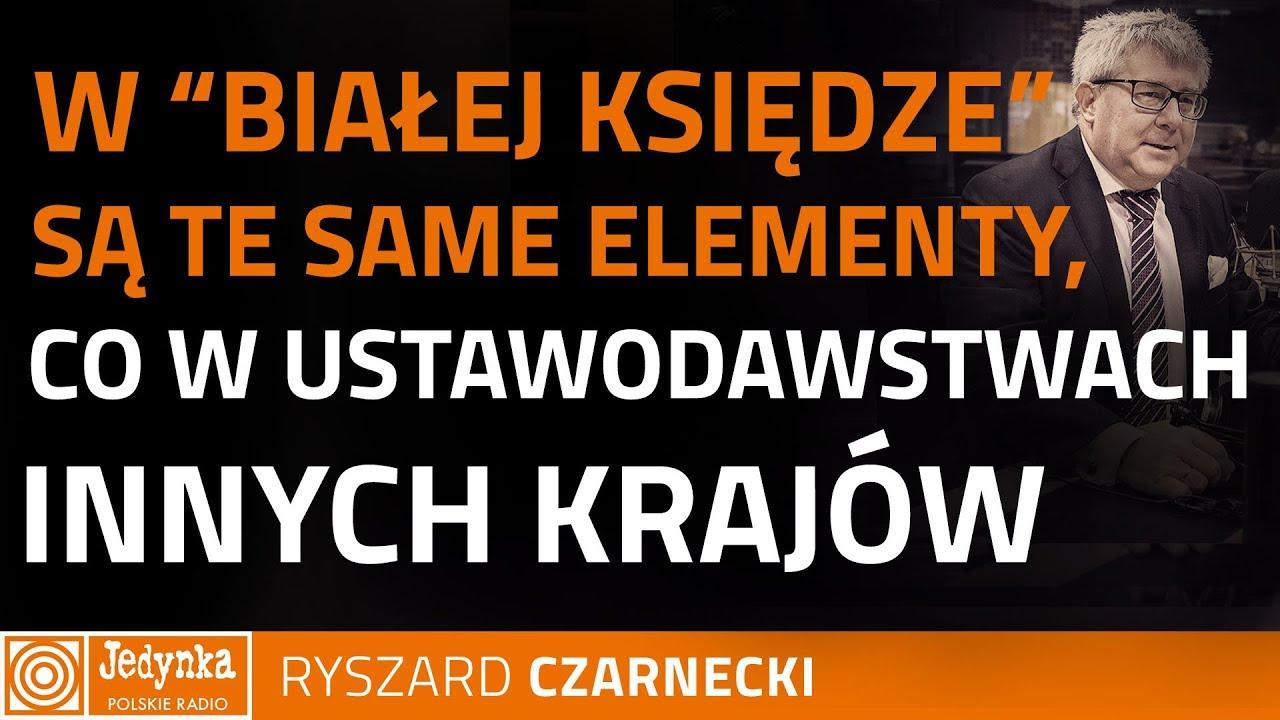 Ryszard Czarnecki: dobrze, że Mateusz Morawiecki wymusza na KE dialog