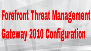 forefront Threat Management Gateway 2010 (TMG) And Why Naked IIS Is Bad