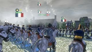 "(VERY HARD) ""Battle of Dresden"" - Napoleon Total War historical"