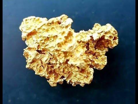Wow Glänzendes Goldnugget