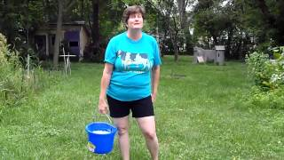 My ALS ice bucket challenge!