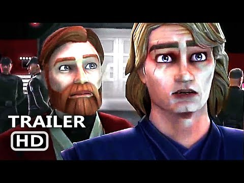 STAR WARS THE CLONE WARS Trailer (2019) Animated NEW Series HD