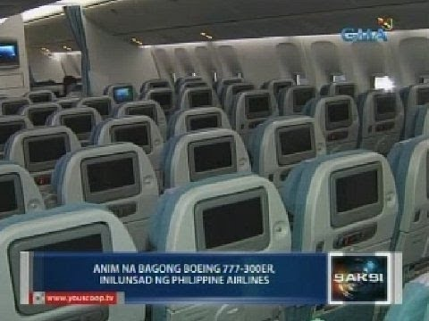6 na bagong Boeing 777-300ER, inilunsad ng Philippine Airlines