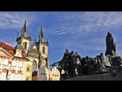 Praga, República Checa / Chequia - Visita, guía ciudad, Plaza Ciudad Vieja. Turismo, Viajes