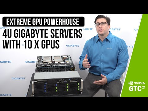 Extreme GPU Powerhouse: 4U GIGABYTE Servers with 10 x GPUs