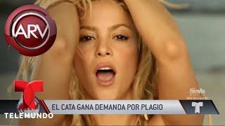 El Cata ganó demanda por plagio a Shakira | Al Rojo Vivo | Telemundo