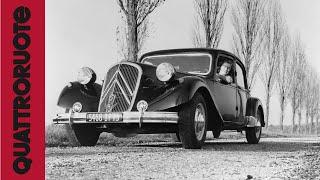 Citroen Traction Avant (1937) Classic Test Drive
