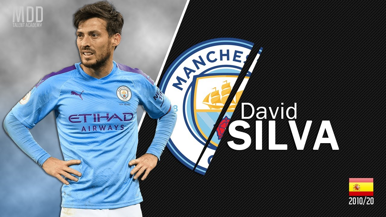 David Silva | Manchester City | Goals, Skills, Assists | 2010/2020 - HD