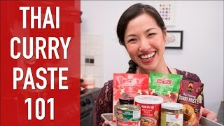 CURRY PASTE 101: What You Need to Know | Thai Cooking