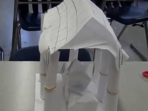 Greek architecture build short version youtube for How to make paper temple