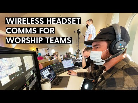 Wireless Headset Comms for Worship Tech Teams | Eartec UltraLITE Review